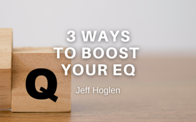 """3 ways to """"Boost your EQ"""""""